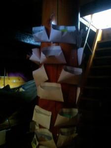 International brev kasse på Fylla - International post box on board Fylla